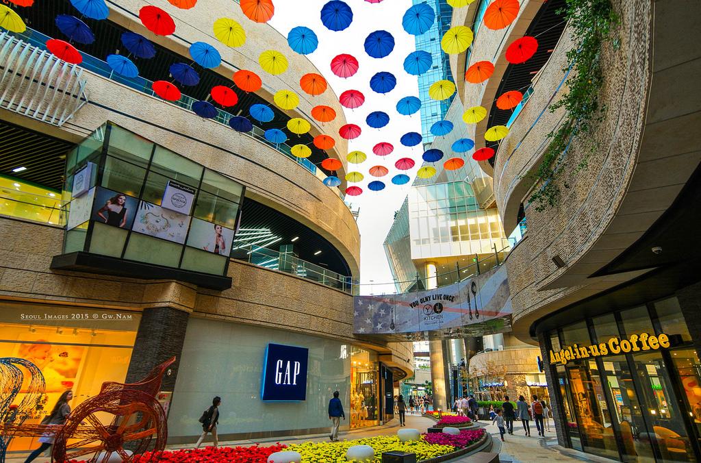 مرکز خرید سمینات پولیس سئول کره جنوبی Mecenatpolis Mall