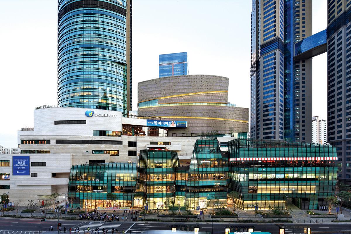 مرکز خرید دی کوب سیتی مال سئول کره جنوبی D- cube City Mall