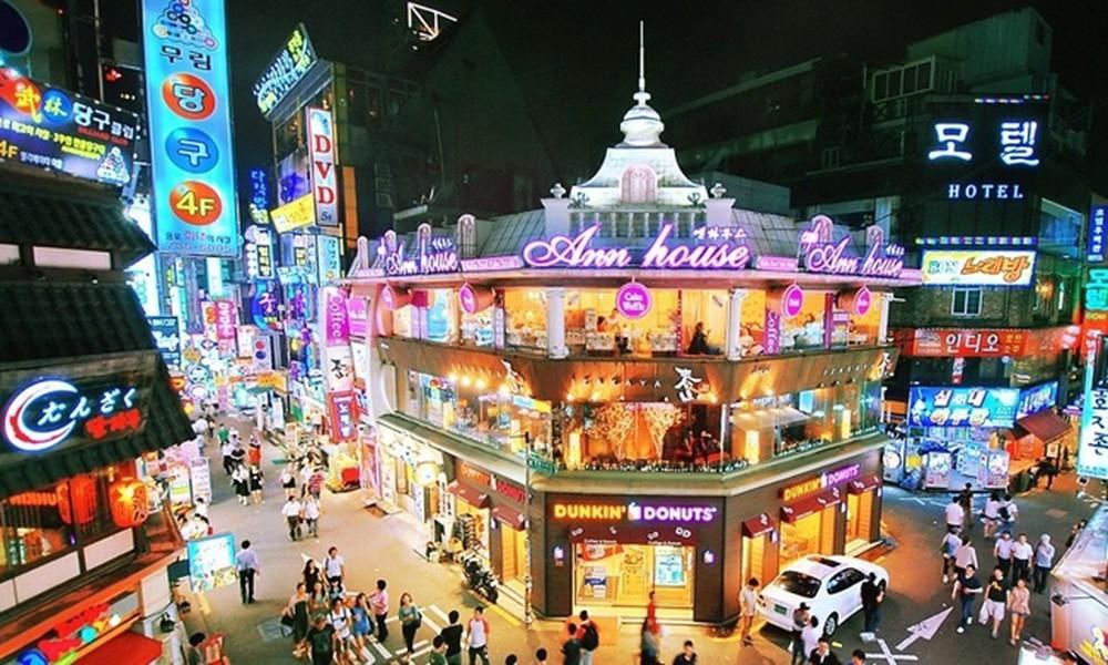 منطقۀ خرید ایتائه وون سئول کره جنوبی Itaewon Shopping District