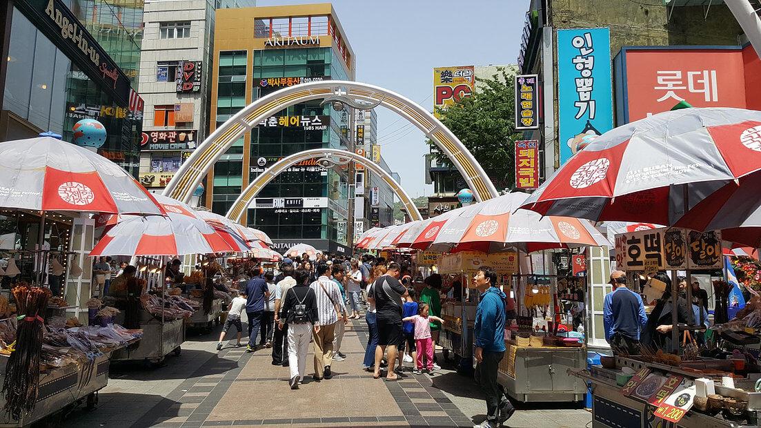 فستیوال غذا در کره جنوبی